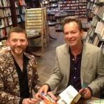 David Roberts and Julian Clary